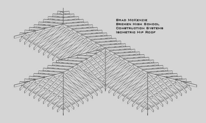Pin Hip Roof Design Rafter Pinterest