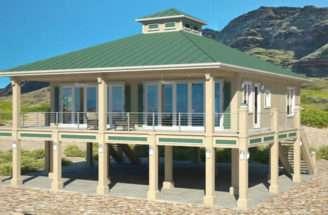 Pin House Stilts Placencia Hurricane Damage Has Led More