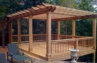 Pin Mobile Home Decks Pinterest