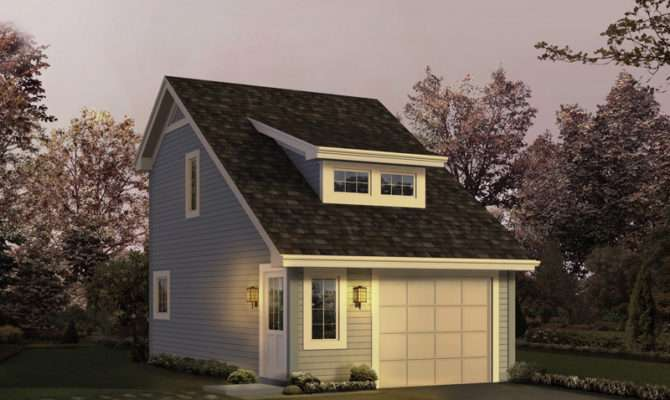 Pinegrove Apartment Garage Plan House Plans