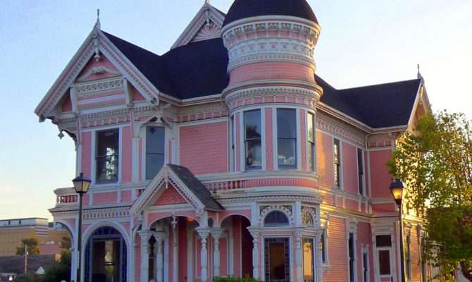 Pink Lady Victorian Queen Anne Located