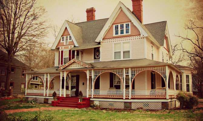 Pink Victorian House Flickr Sharing