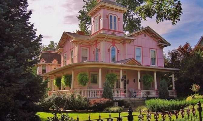 Pink Victorian House Wooster Ohio Photos