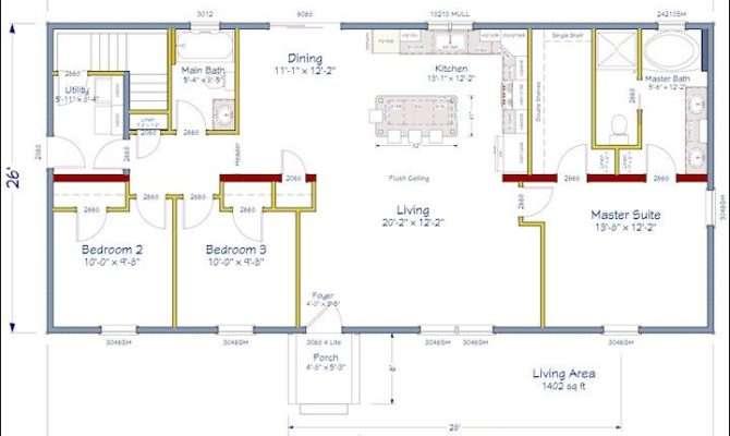 Pinterest Open Concept Floor Plans