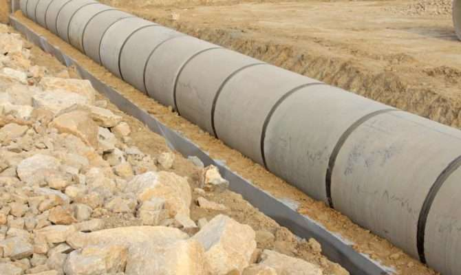 Pipes Can Help Prevent Flooding Soil Erosion Guiding Water