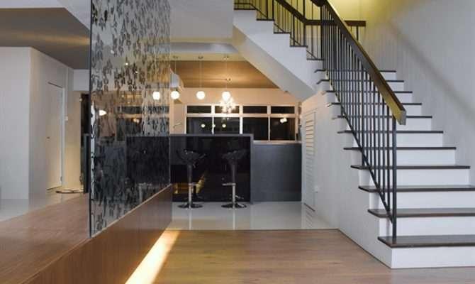 Pitch Black Maisonette Interior Design Rezt Relax