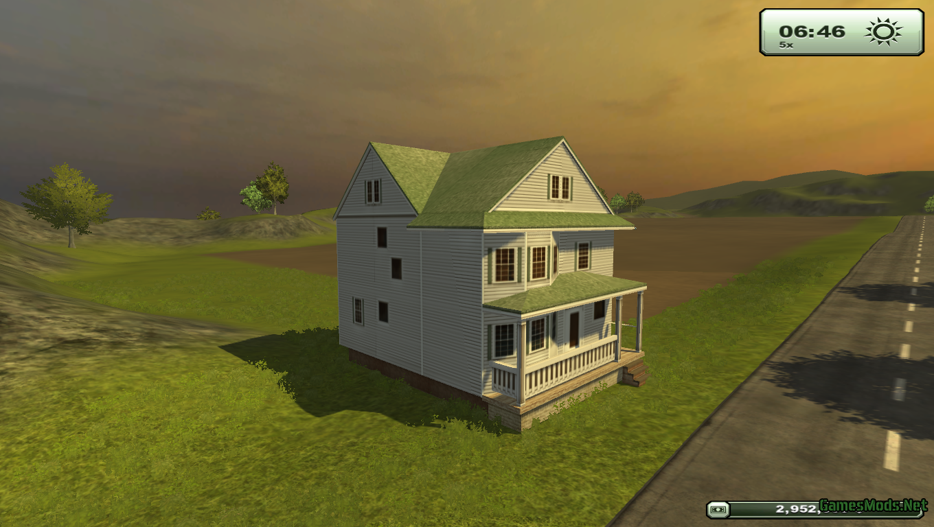Placeable House Gamesmods Cnc
