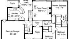Plain Simple Floor Plans Measurements House