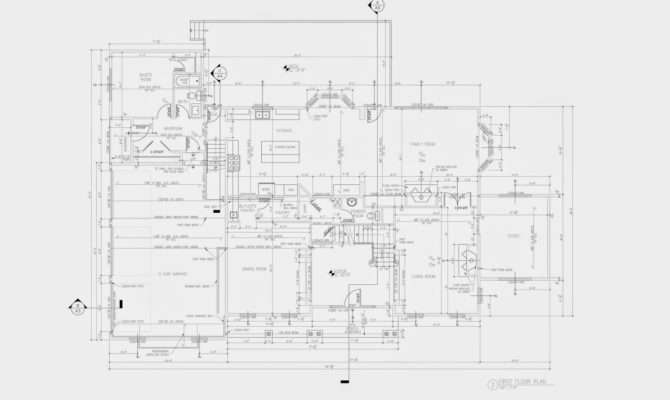 Plan Architectural Floor Construction