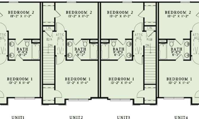 Plan Attractive Plex House