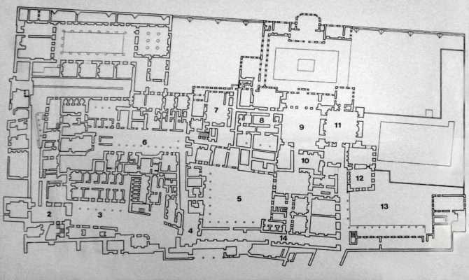 Plan Harem Topkapi Palace Istanbul Wikimedia Commons