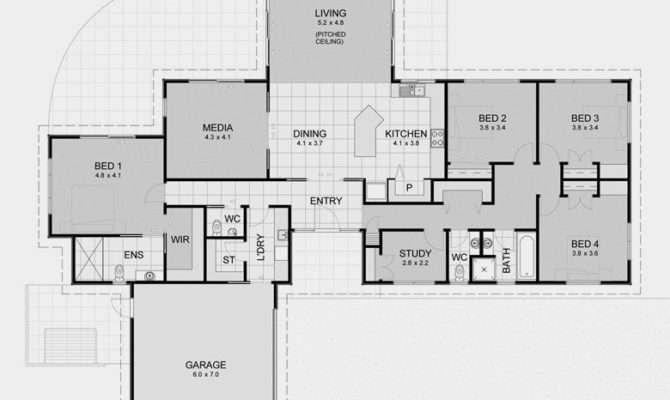 Plan House Plans Cozy Interior Big Open Floor