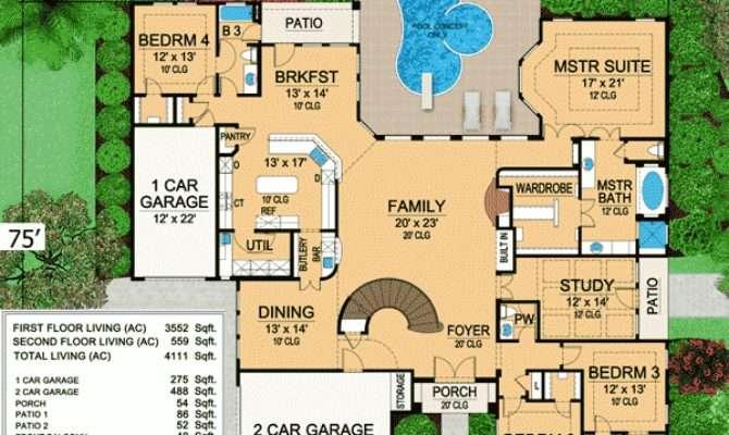 Plan Mini Mansion Architectural Design