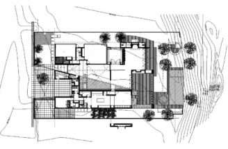 Plan Modern Home Zapopan Mexico