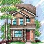 Plan Narrow Lot Townhouse Floor Plans House