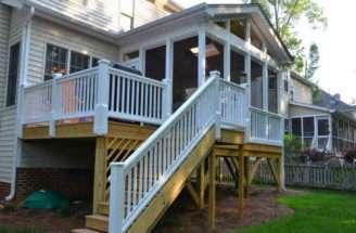 Planning Ideas Screened Porch Plans Design