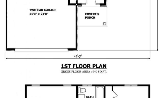 Planos Casas Peque Dos Pisos