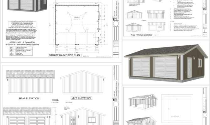 Plans Apartment Garage Leave Comment
