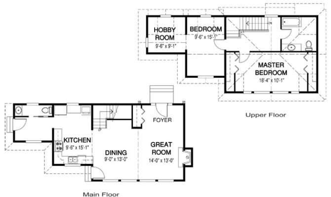 Plans Area Main Floor Upper Bedrooms