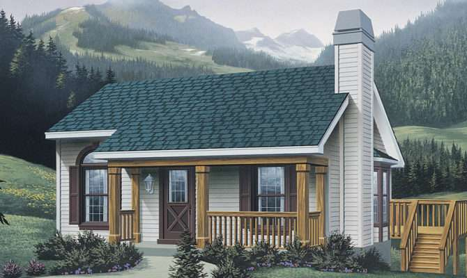 Plans Cabin Cottage House Ranch Mountain Home