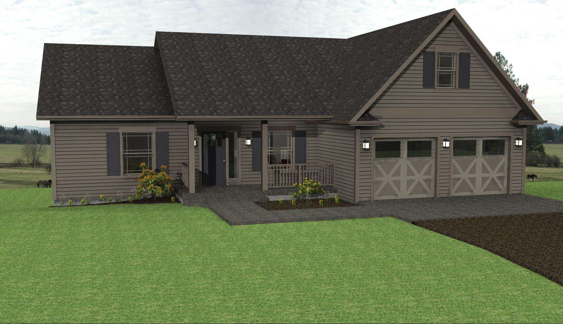 Plans Country Ranch Small House Style Design