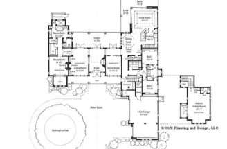 Plans Courtyards Italian House Floor