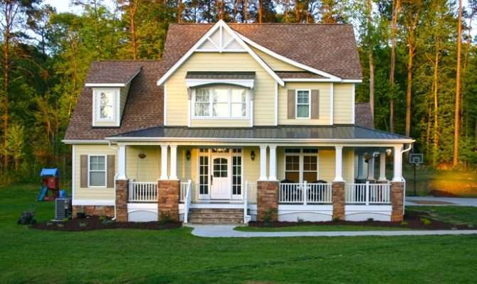 Plans Craftsman Farmhouse Day House Home