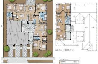 Plans Home Designs Architecturaldesigns Spanish Plan