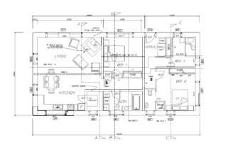 Plans Include Floor Plan Slab Roof Elevations Sections