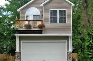 Plans Narrow Lot House
