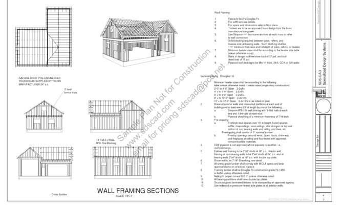 Plans Workshop Garage Comment