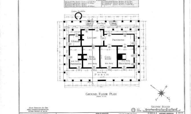 Plantation House Floor Plans Parlange