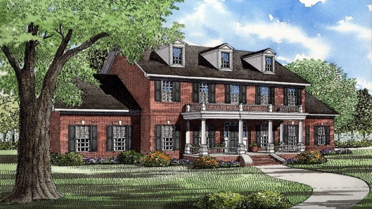 Plantation House Plans Southern Style Homes
