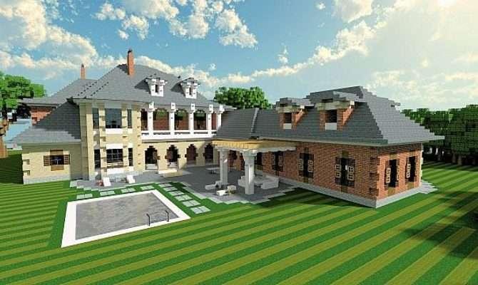 Plantation Mansion Minecraft Building Inc
