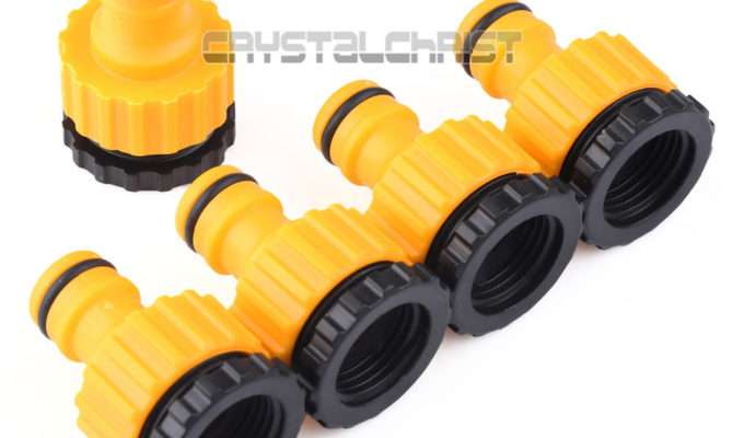 Plastic Garden Hose Water Pipe Connector