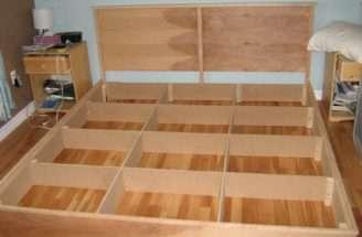 Platform Bed Plans Coat Rack Bench Woodworktips