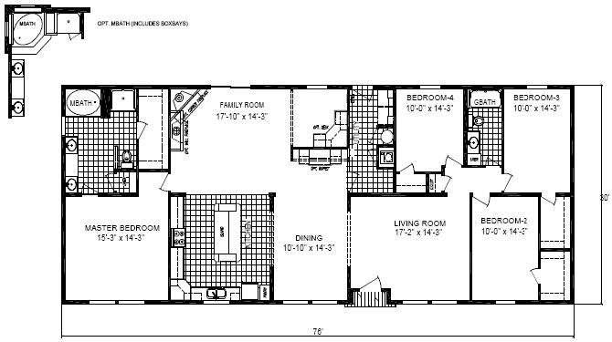 Plus Floor Plan Nicholson Bdrms
