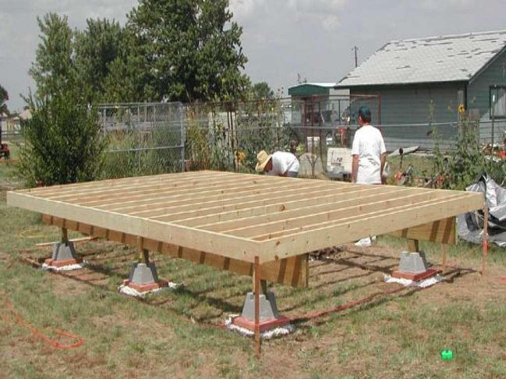 Pole Barn House Blueprints Deck Blocks Storage Shed