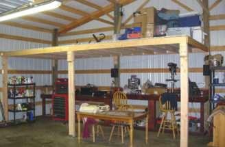 Pole Barn Loft Plans Basic Woodworking Projects