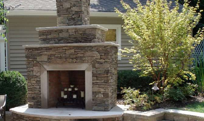 Pompton Lakes Outdoor Fireplace Construction Flickr