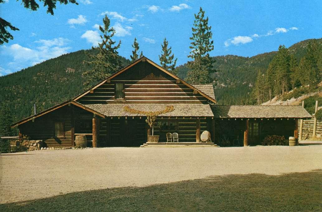 Ponderosa Ranch Lake Tahoe Old Postcards Brochures