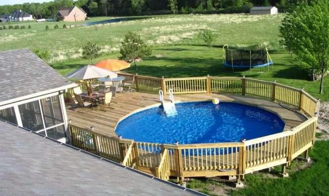 Pool Decks Privacy Deck Designs Decking Home Design