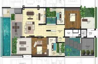 Pool House Blueprints Home Spaces Design