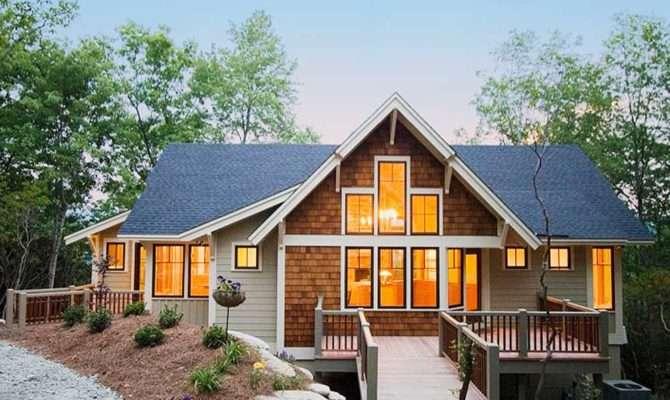 Popular Mountain Home Plan Architectural