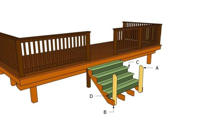 Porch Stairs Howtospecialist Build Step Diy Plans