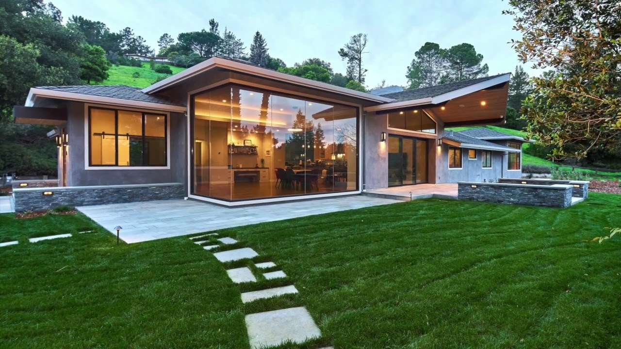 Portola Valley Contemporary Ranch Remodel Youtube