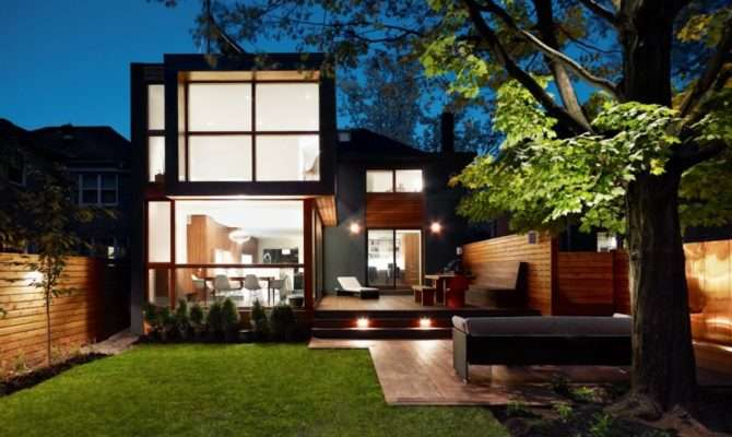 Post War House Converted Into Modern Residence Canada