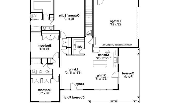 Prairie Style House Plans Sahalie Associated