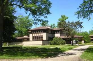 Prairie Style House Plans Trees
