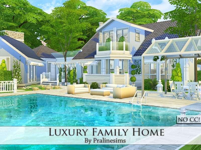 Pralinesims Luxury Home
